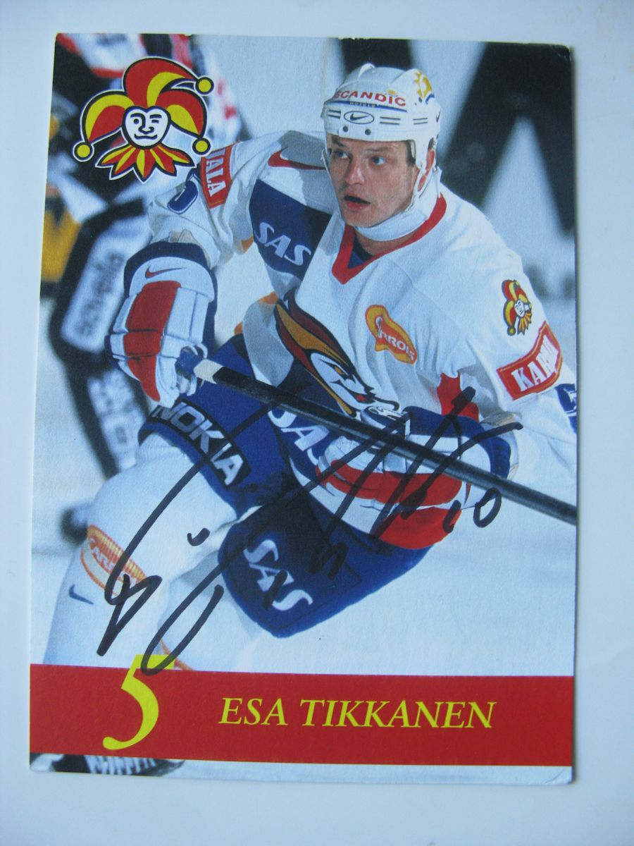 Esa Tikkanen Jokerit Photomatched